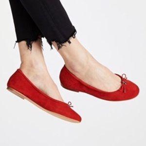 Sam Edelman Felicia red ballet flats size 10